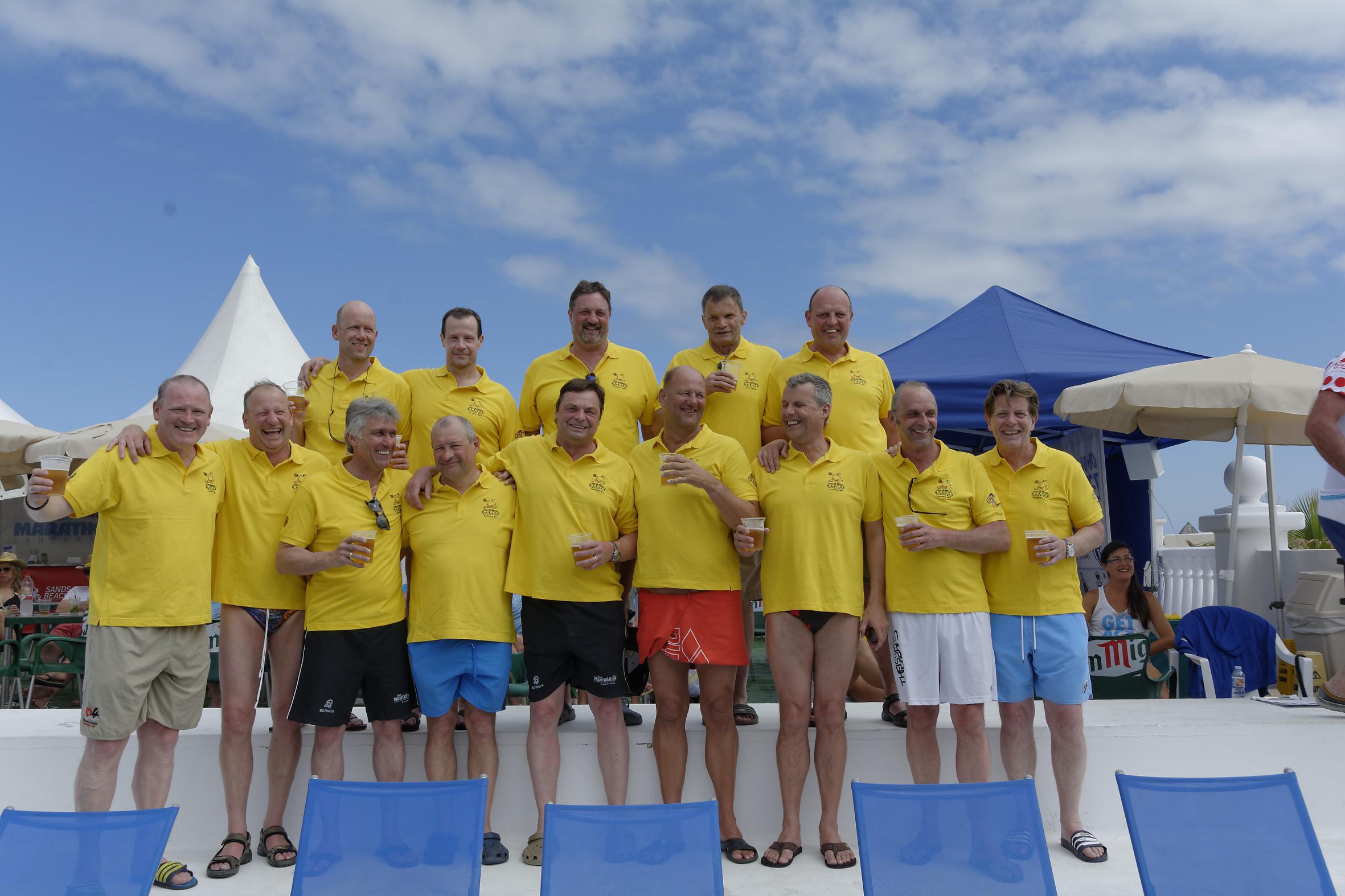 Open Spanish Masters – Lanzarote- Platz 6, aber viel Spaß !