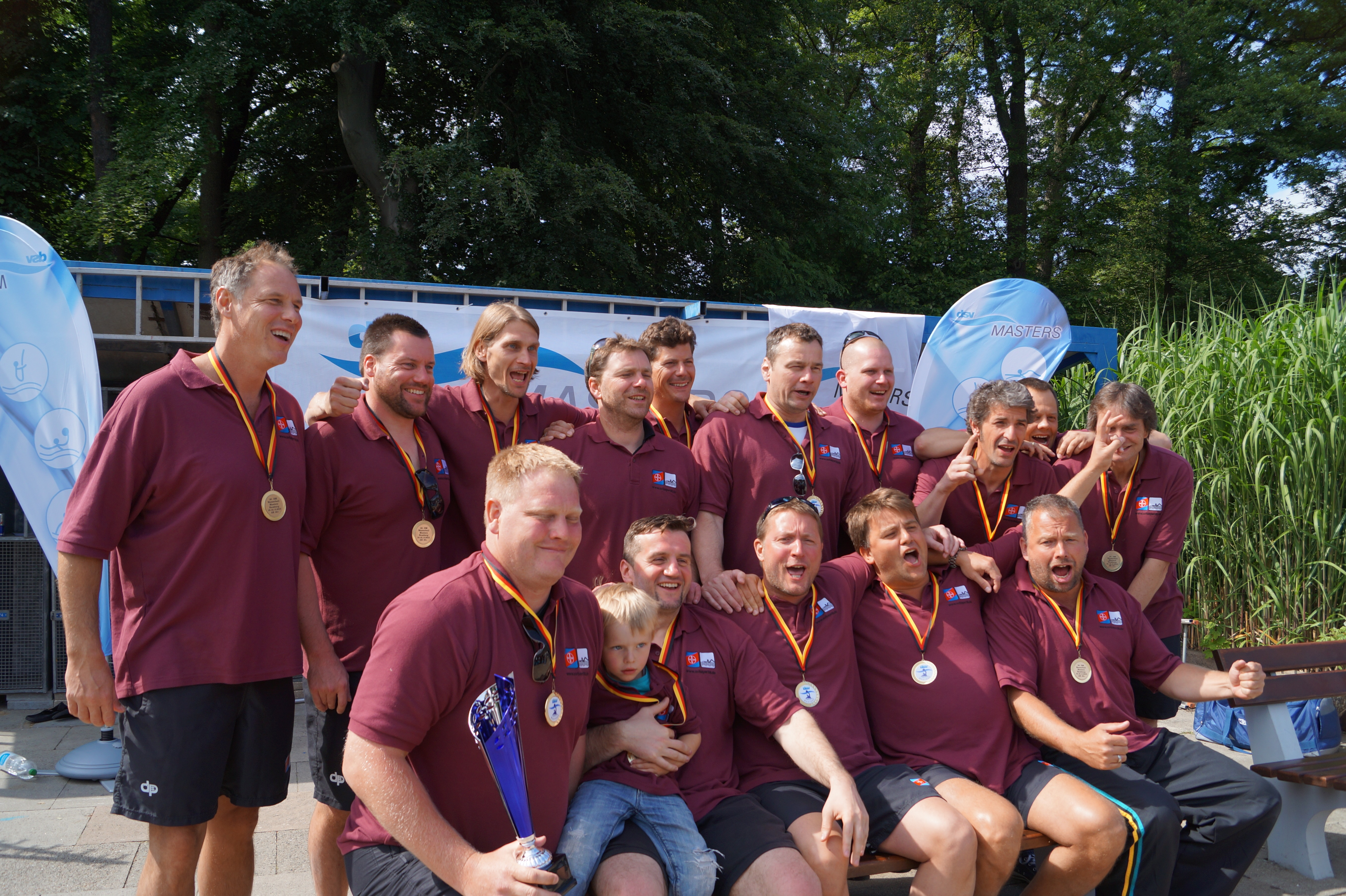 SV Bayer 08 Uerdingen erneut Deutscher Meister