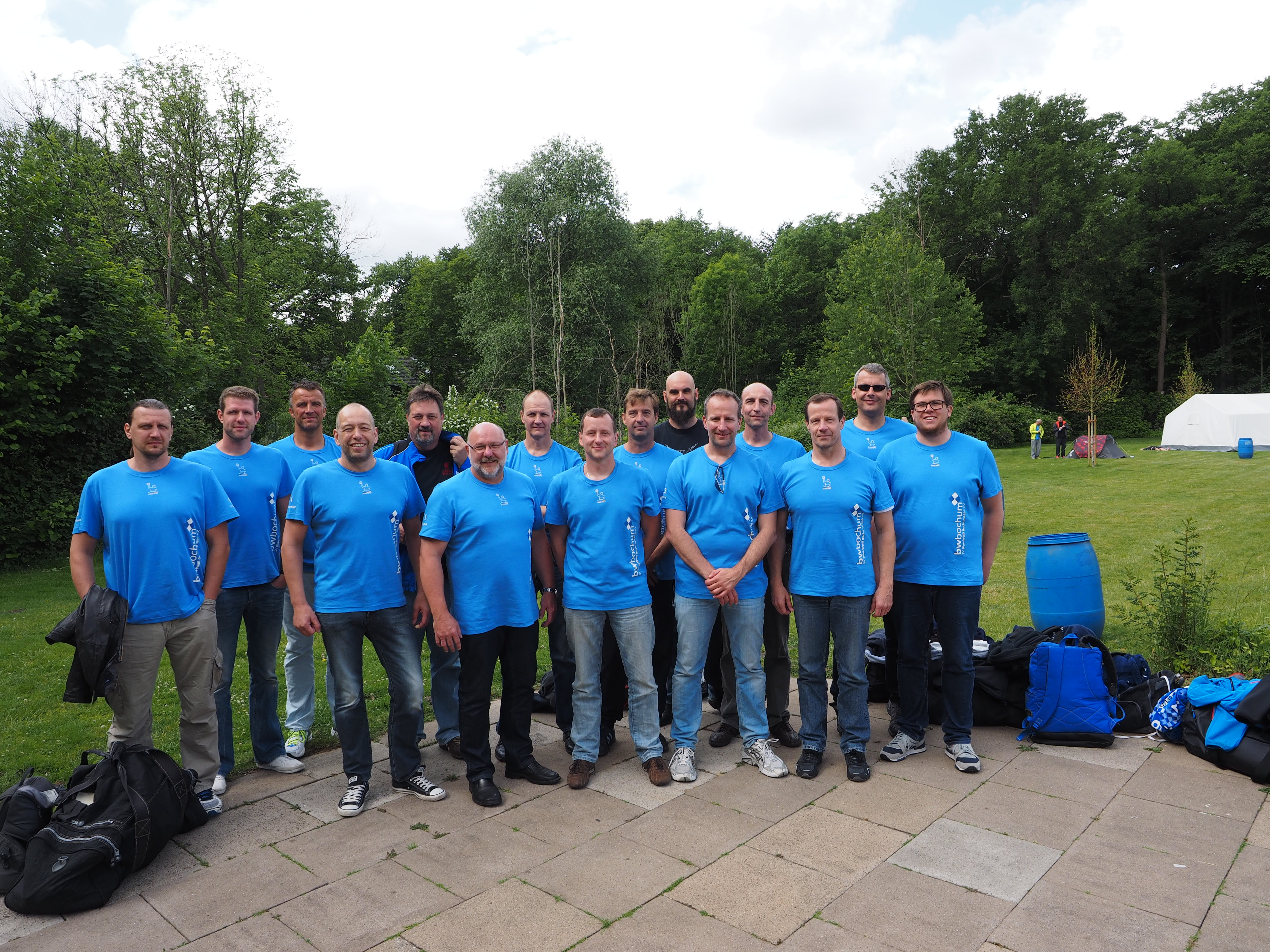 SV Blau-Weiß Bochum Silbermedaillengewinner 2015 SV in der AK 30+