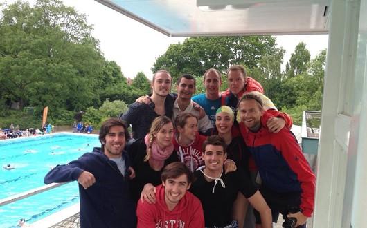 Ein internationales Wasserballturnier in München muss her