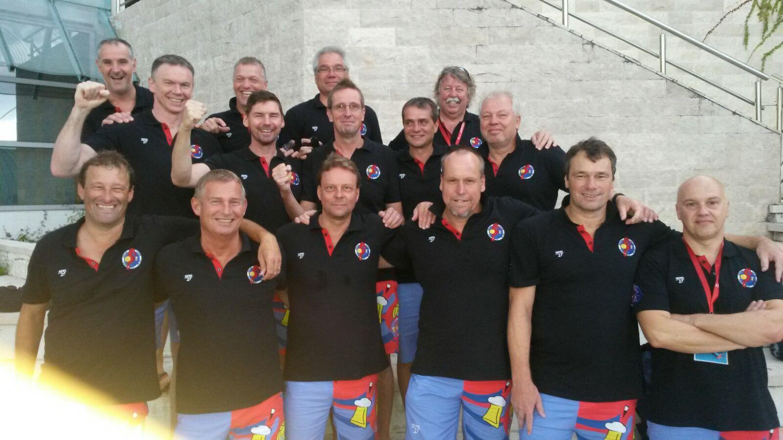 Uerdingens AK 50er setzen deutliche Akzente bei der  Master-EM in Rijeka