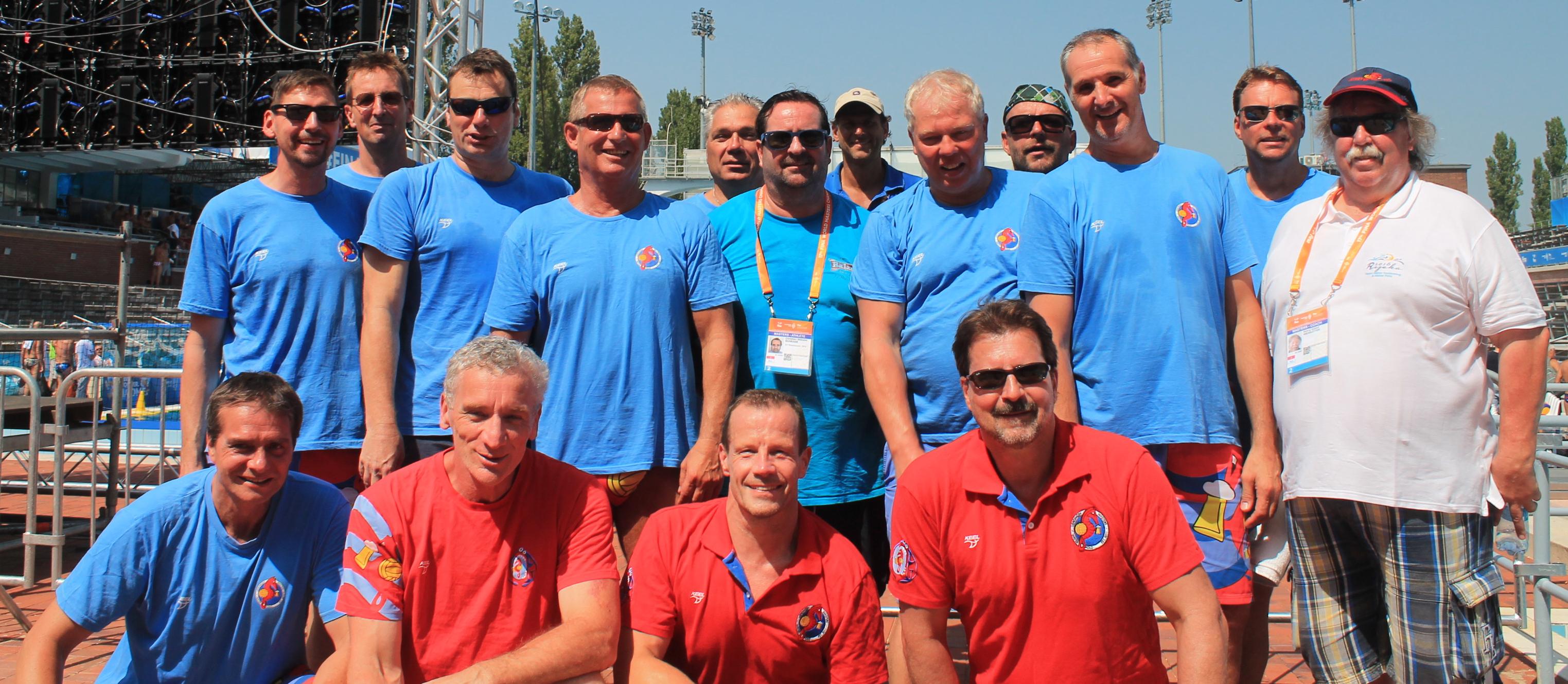 Rheinhausens AK 50-Masters unter den TOP- Ten der Wasserballwelt