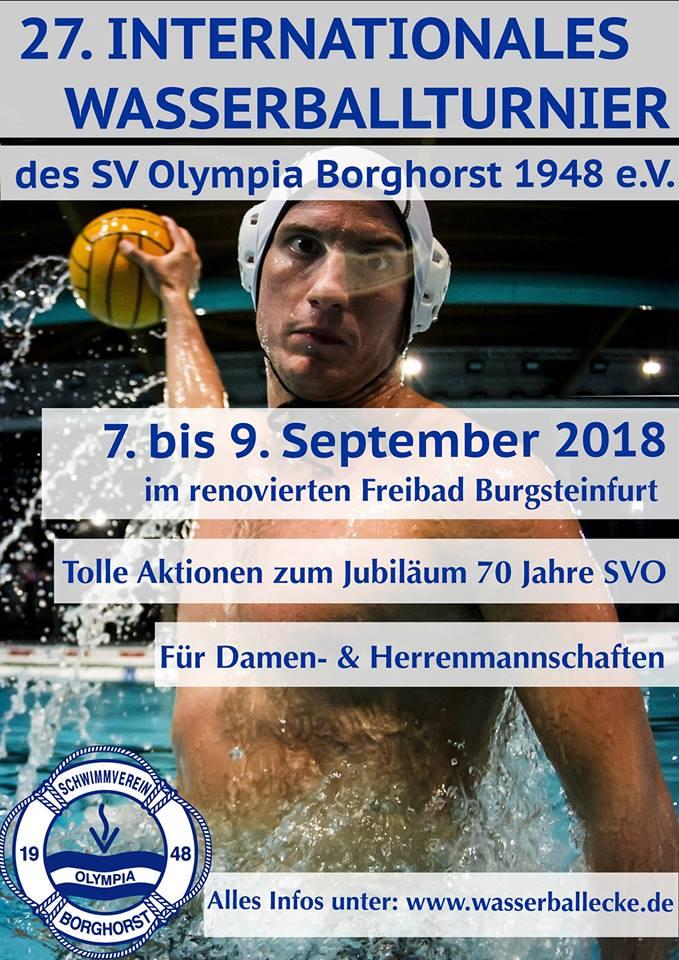 Einladung SV Olympia Borghorst