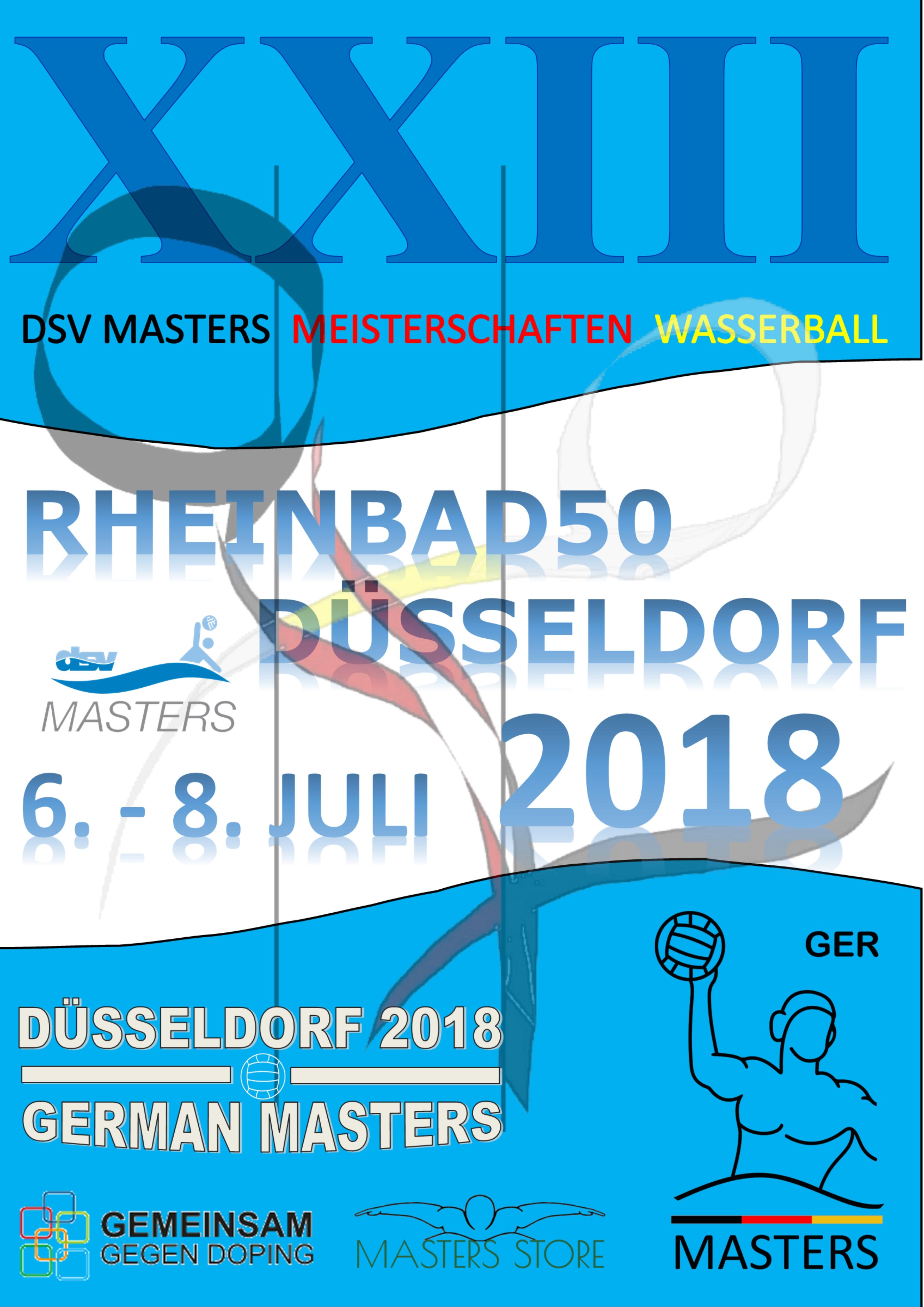 Durchführungsbestimmungen für das 23. DSV Masters- Wasserballturnier