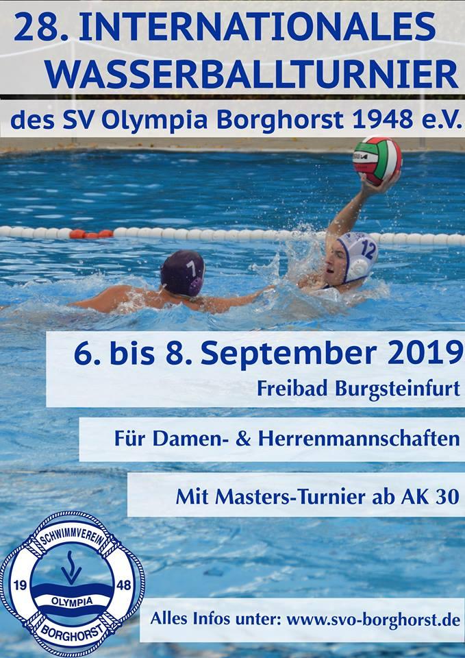 Einladung SV Olympia Borghorst 2019