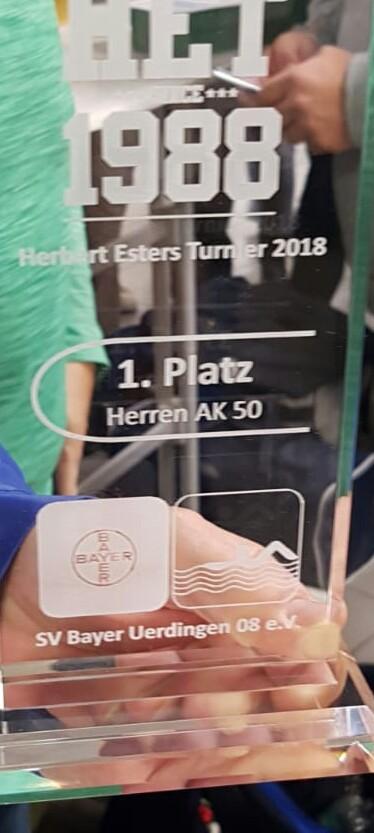 Oberhausener Masters überrraschen beim Herbert Esters Turnier in Uerdingen