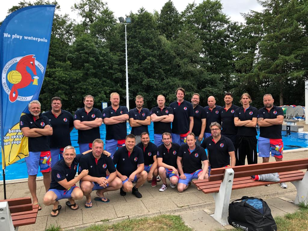 24. Deutsche Wasserballmeisterschaft der Masters im Wasserball in Hamburg