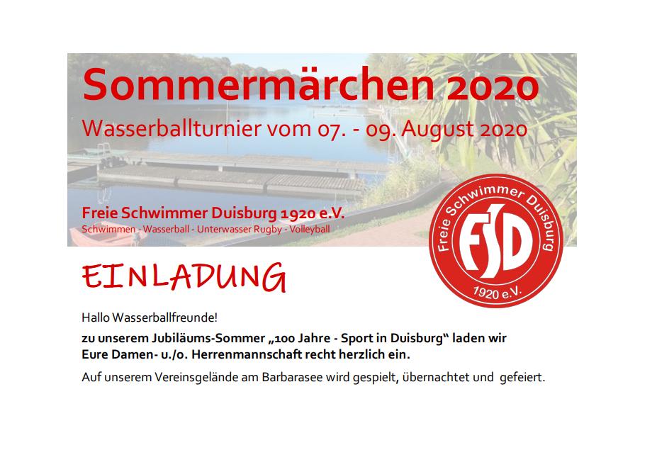 100 Jahre Freie Schwimmer Duisburg