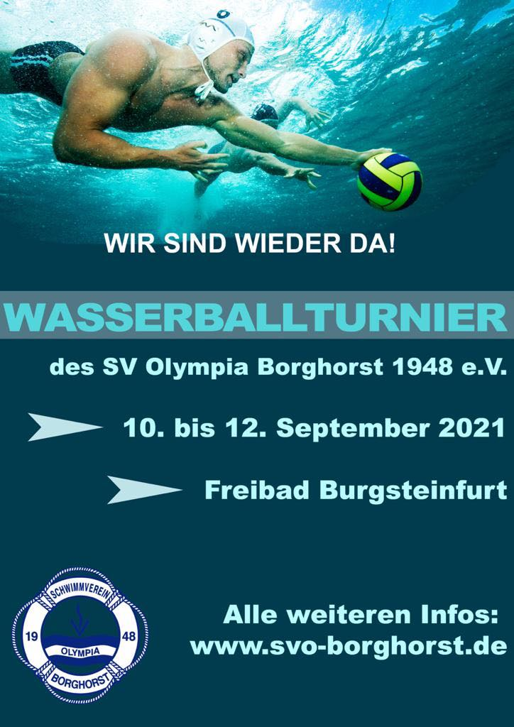 29. Wasserballtunier SVO Borghorst